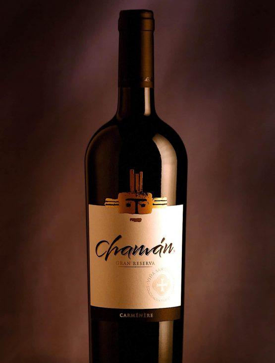 vino chaman gran reserva carmenere