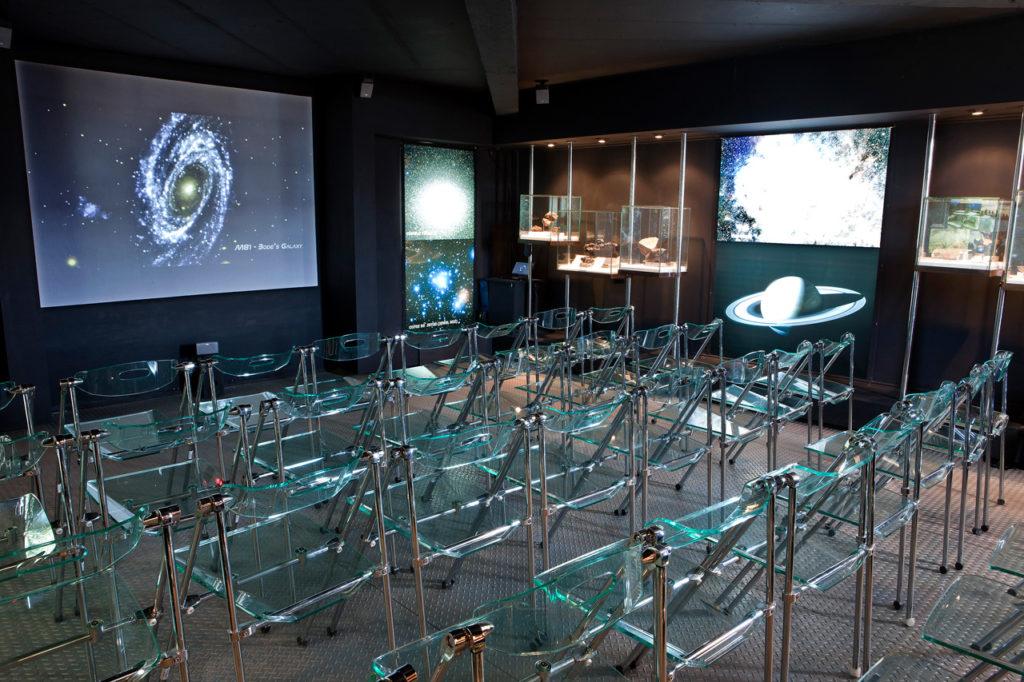 Tour astronomico Viña Santa Cruz