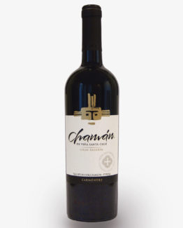 vino chaman gran reserva carmenere viña santa cruz