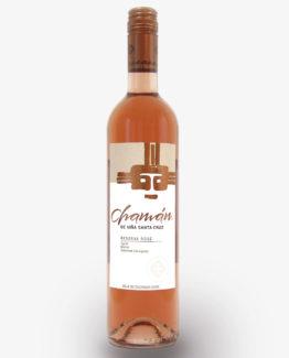 vino chaman reserva rosé viña santa cruz