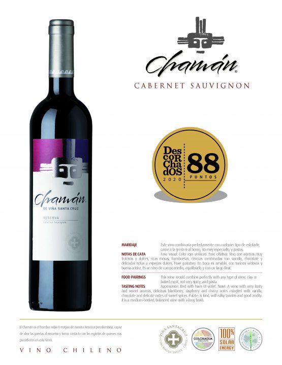 Puntaje Vino Chamán Cabernet Sauvignon
